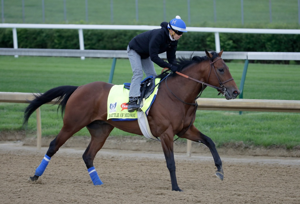 Breeders Cup Winner Battle Of Midway Euthanized Nbc Sports