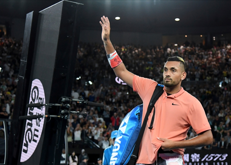 Nick Kyrgios pulls out of New York Open with shoulder injury - NBC Sports