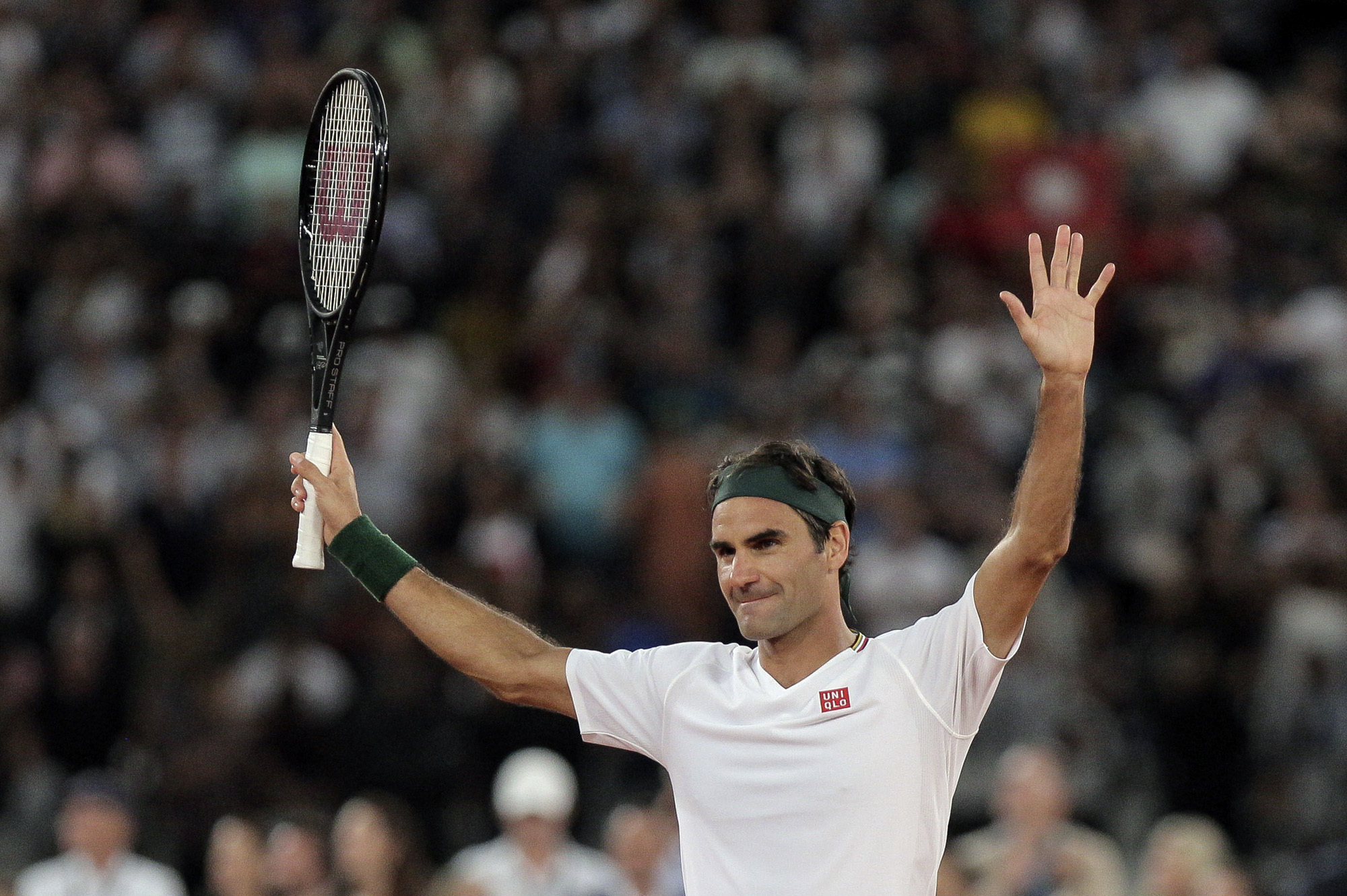 Roger Federer Tops Rafael Nadal In South Africa Nbc Sports