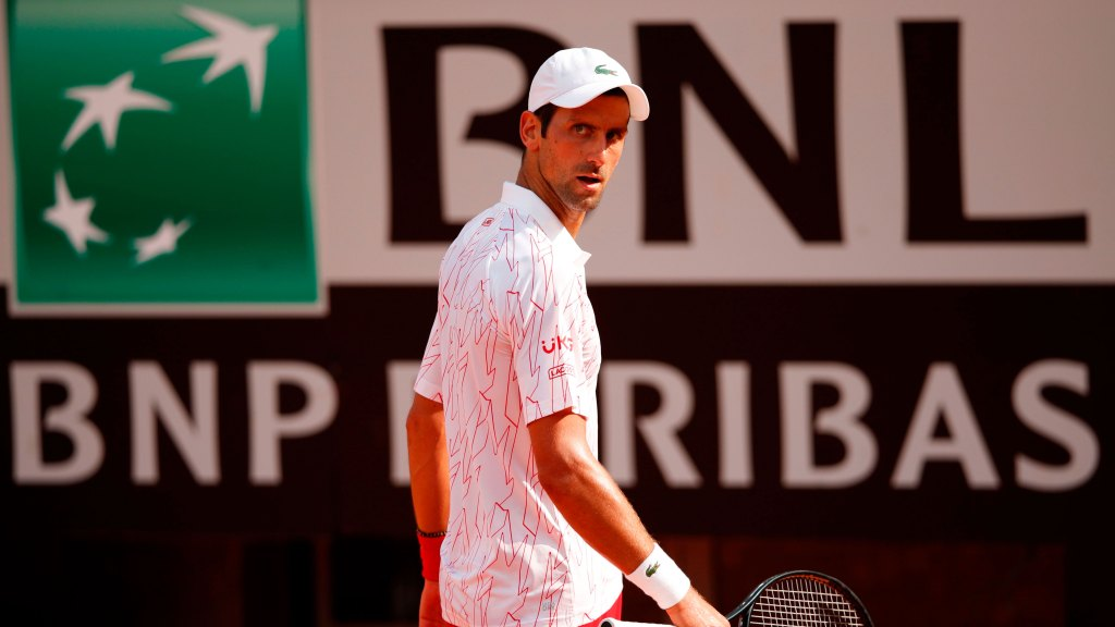 Djokovic Loses His Cool Again During Win At Italian Open Nbc Sports