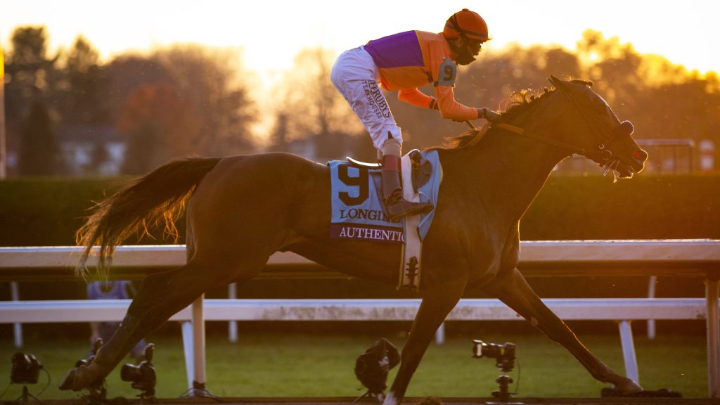 Derby, Breeders' Cup champ Authentic named 2020 Horse of the Year
