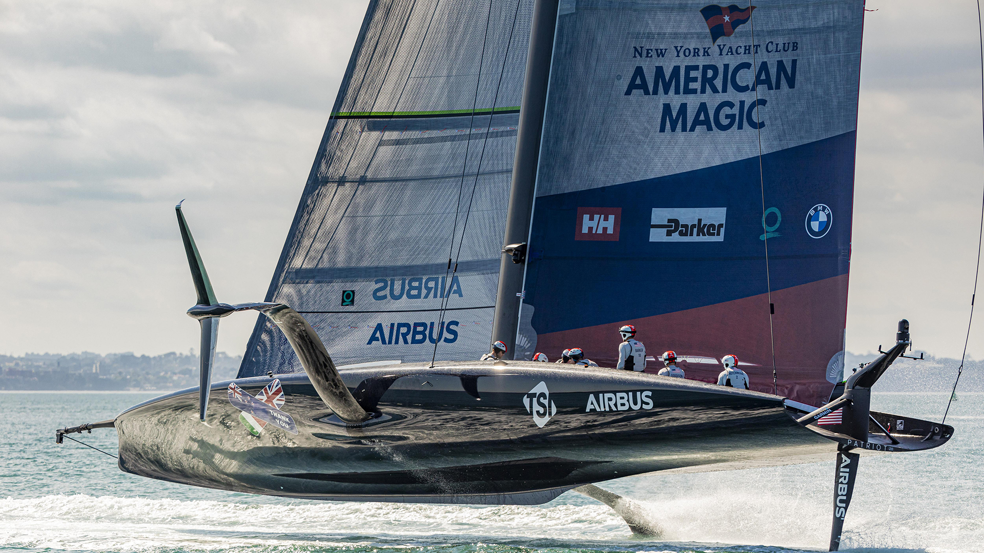 Patriot 2.0 sets sail in Auckland ahead of PRADA Cup Semifinal