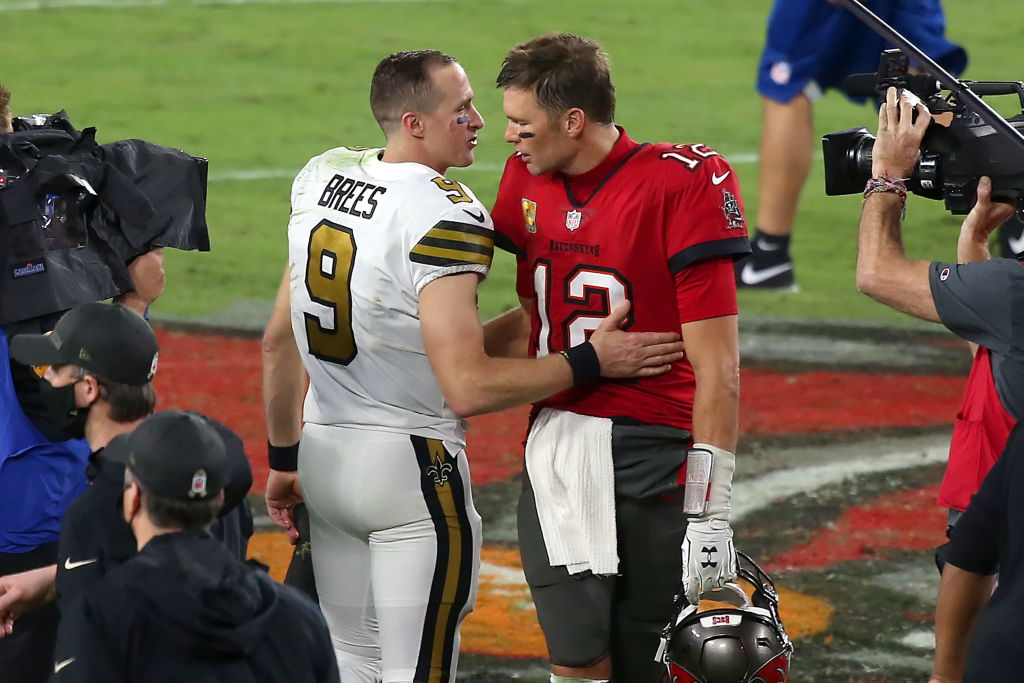 Tom Brady vs. Drew Brees: How many times have the two QBs played each other?