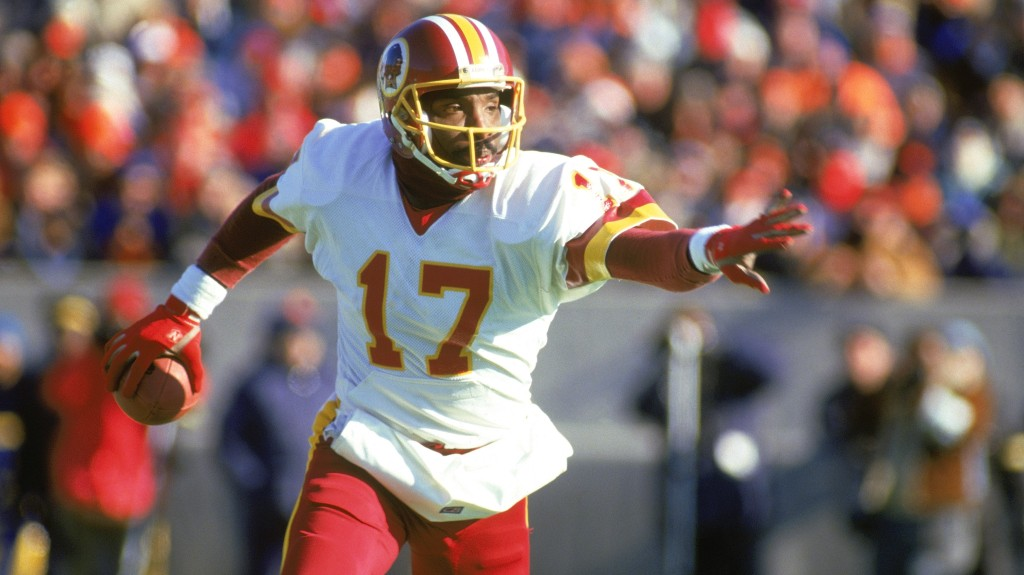 Doug Williams on the run
